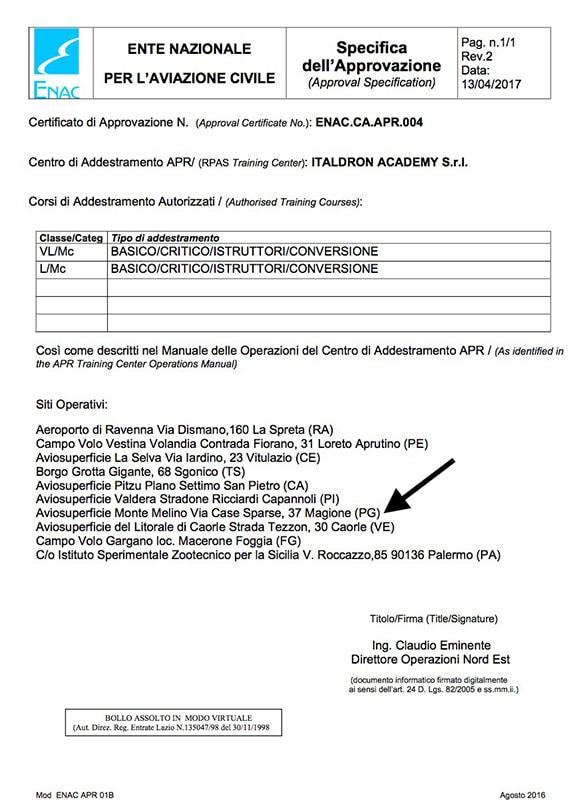 Certificato 02