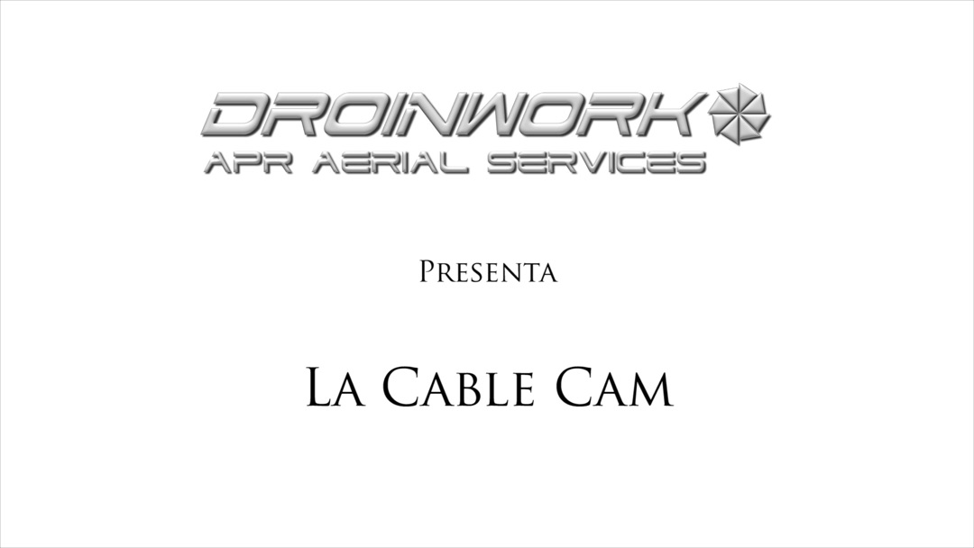 Cable Cam Droinwork
