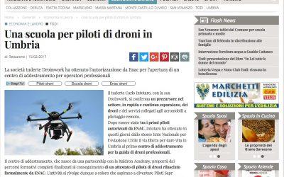 iltamtam.it / Una scuola per piloti di droni in Umbria