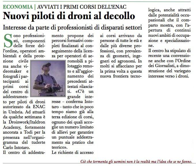 iltamtam.it / Nuovi piloti di droni al decollo