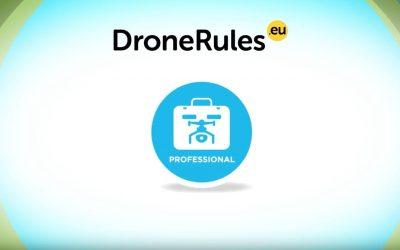 Le buone regole per l'uso Professionale dei droni (APR) – EASA