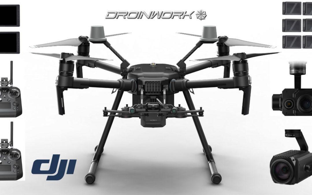 Droinwork | Rivenditore autorizzato DJI Enterprise | Soluzioni per i Professionisti