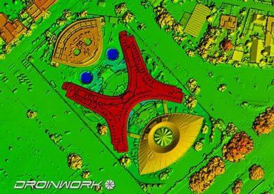 rilievi drone Regione Lazio